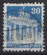 Germany 1948-52 Alliierte Besetzung  (o)  Mi.89 Wg W F - Zone Anglo-Américaine