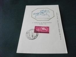 3° GIORNATA DEL FRANCOBOLLO 3 DICEMBRE 1961 A CURA DEL CENTRO CULTURALE FIAT SERVIZIO FILATELICO - Esposizioni