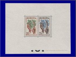 Qualité: XX – 67, Bloc Gommé Dentelé, (tirage 22), Yvert 1132/33: Europa 1957. Cote: 2250 - Sheetlets