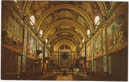 Valletta - St. John's Co-Cathedral; Interior Of The Conventual Church Of The Knights, Flemish Tapestries, ORGAN ( Malta) - Malta