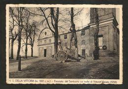 Santuario Di Nostra Signora Della Vittoria ( Mignanego / Genova ) Spedita Nel 1937 - Genova