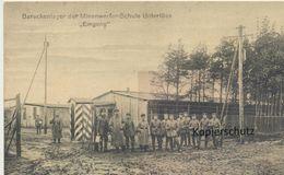 AK Unterlüss, Eingang Mienenwerferschule - Deutschland