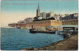 Marsamuscetto Landing Place - (Steamer)   - (Malta) - Malta