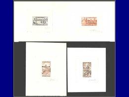 Qualité: EPA – 134/37, 4 épreuves D'artiste, Signées: Folklore 1966 . - Laos