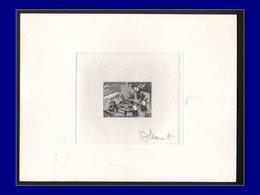Qualité: EPA – 202, épreuve D'artiste En Noir, Signée: O.I.T, Vannerie . - Laos