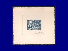 Qualité: EPA – Pa. 20, épreuve D'artiste En Bleu, Signée: 2500° An Bouddha . - Laos