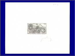 Qualité: EPA – Pa. 110, épreuve D'artiste En Noir, Signée: 150k. Interpol, Pavot (cocaïne) . - Laos