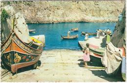 Wied-iz-Zurrieq - A Picturesque Fishermen Place - (Malta) - Malta