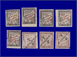 Qualité: X – 51/58, Complet 8 Valeurs, Certains Bdf. Cote: 1450 - Eritrea