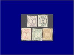 Qualité: X – 1/5, Complet (Michel 1/5). Cote: 160 - Palestine
