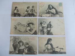 Lot De 6 Cartes Edition Bergeret Et Royer Nancy - Postcards