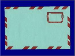Qualité: N – Wiegand 6, Aérogramme, Erreur Sans Impression Du Vert, (timbre +bords): 6df. . - Afghanistan