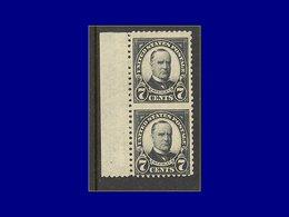 Qualité: XX – 234, Paire Verticale, Non Dentelée Entre, Bdf: 7c. Noir MC. Kinley. (Sott 639 A). Cote: 330 - United States