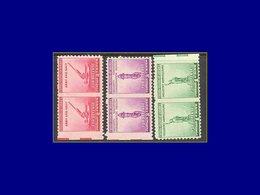 Qualité: XX – 451/3, 3 Paires Horizontales, Non Dentelées Entre Verticalement: Liberté, Défense . - United States