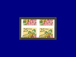 Qualité: XX – 1827, Paire Horizontale Non Dentelée, Découpe Horizontale De La Roulette à Cheval (40 %): Abeille . - United States