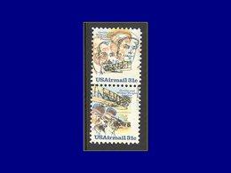 Qualité: XX – 85/6, Paire Verticale, Couleur Totalement Décalée: Frères Wright . - United States