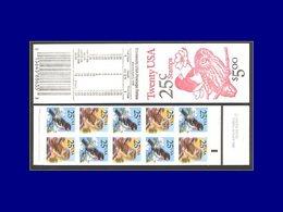 Qualité: XX – 1813/14, Carnet Complet, Couleurs Totalement Déplacées Sur Les 2 Panneaux: Hibou Et Gros-bec . - United States
