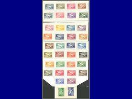 Qualité: X – 27/59+97/98, Signature Waterlow, Série Complète 36 Valeurs. Cote: 390 - Uruguay