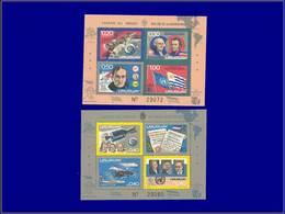 Qualité: XX – Michel 26/27: Cosmos, Concorde, Usa. Cote: 84 - Uruguay