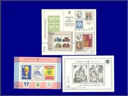 Qualité: XX – Michel 43/45: Durer, Enfance, Football, R Hill. Cote: 106 - Uruguay