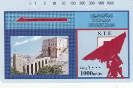 Syria  Phonecard 1000u Tamura - Superb Used - Syria