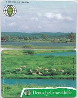 Deutsche Umwelthilfe -Die Elbtalaue  Puzzle Aus Den O 1479 Und O 1485 Aus 1997 -Auflagenhöhe Liegt Bei 1000 Ex- - Puzzles