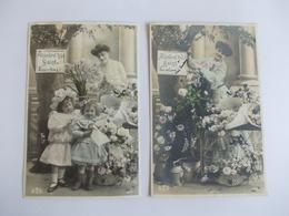 Lot De 2 Cartes D'une Même Série Edition AS Saint Just Aujourd'hui Saint - Postcards