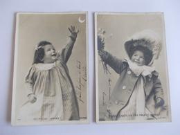Lot De 2 Cartes D'une Même Série Edition AN Paris Armand Noyer - Postcards