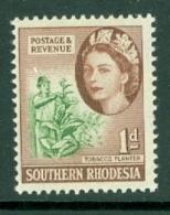 Southern Rhodesia: 1953   QE II - Pictorial   SG79     1d    MH - Southern Rhodesia (...-1964)