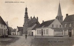Santhoven - Zicht In 't Dorp - 1912 - Zandhoven