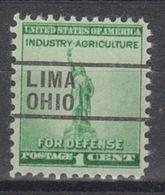 USA Precancel Vorausentwertung Preo, Locals Ohio, Lima 261 - Precancels