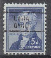 USA Precancel Vorausentwertung Preo, Locals Ohio, Lima 729 - Precancels