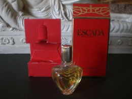 Parfum عطر духи Perfume ESCADA BY MARGARITA LEY From Vintage Collection Complete - Miniatures Femmes (avec Boite)