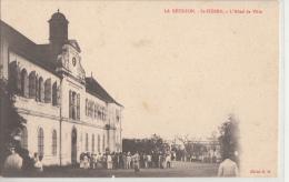 LA REUNION      SAINT PIERRE         HOTEL DE VILLE   .PIONNIERE - Saint Pierre