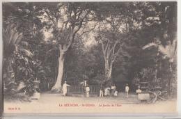 LA REUNION      SAINT DENIS.            LE JARDIN DE L ETAT.        PIONNIERE - Saint Denis