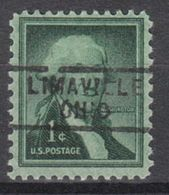 USA Precancel Vorausentwertung Preo, Locals Ohio, Limaville 729 - Precancels