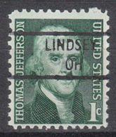 USA Precancel Vorausentwertung Preo, Locals Ohio, Lindsey 841 - Vereinigte Staaten