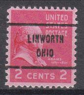USA Precancel Vorausentwertung Preo, Locals Ohio, Linworth 713 - Precancels