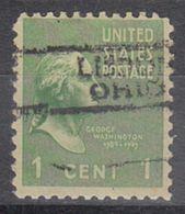 USA Precancel Vorausentwertung Preo, Locals Ohio, Lisbon 728 - Precancels