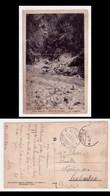 Cartolina/postcard Valle Seriana - PONTE NOSSA - La Sorgente. 1930 - Bergamo