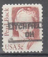 USA Precancel Vorausentwertung Preo, Locals Ohio, Litchfield 890 - Precancels