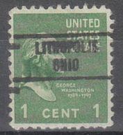 USA Precancel Vorausentwertung Preo, Locals Ohio, Lithopolis 734 - Vereinigte Staaten