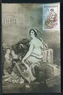 Carte Maximum 1960 - Mme De Staël - Ref F256 - Maximum Cards