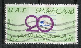 UAE 1984  2 1/2d Intelsat Issue #187 - Verenigde Arabische Emiraten