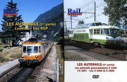 Train (2 Dvd) : Les Autorails (FNC, RGP, X4200, X2051, X4300, X3800) - Documentary