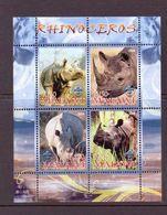 M ALAWI 2008 RHINOCEROS  YVERT N°   NEUF MNH** - Rhinozerosse
