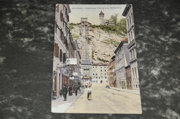 1032    Salzburg, Elektrischer Aufzug Auf Dem Mönchsberg  1910 - Österreich