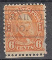 USA Precancel Vorausentwertung Preo, Locals Ohio, Lorain 638-490, Stamp Defect - Precancels