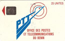 Benin 25unit  Phonecard- Superb Used - Benin