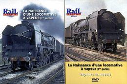 Train (2 Dvd) : La Naissance D'une Locomotive à Vapeur (Mikado 141P) + Vapeurs En Essais - Documentary